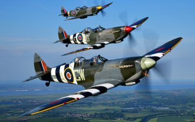 Save £100 off any Two Seat Spitfire Flight using code DOCT100