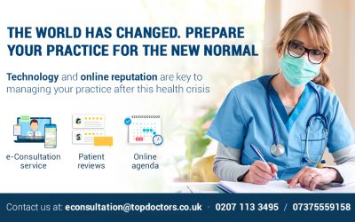 Special offer on Top Doctors' comprehensive solution for managing your practice post-COVID-19